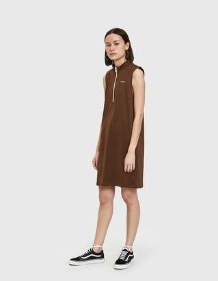 Stussy Ryder Track Dress in Brown