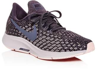 Nike Women's Air Zoom Pegasus Knit Lace Up Sneakers