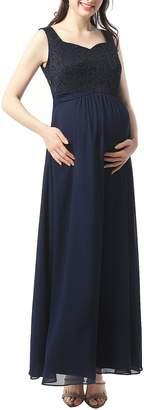 Kimi and Kai Kyra Maternity Maxi Dress