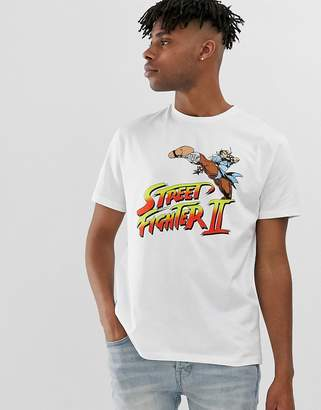 Asos Design DESIGN Street Fighter relaxed fit t-shirt with chest print