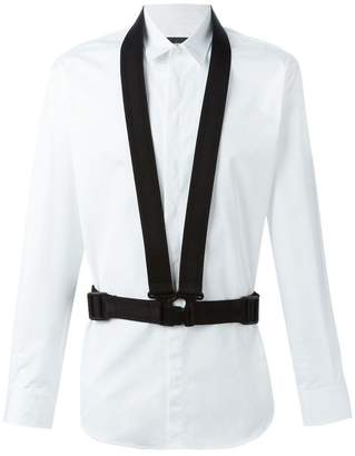 DSQUARED2 buckle strap detail shirt