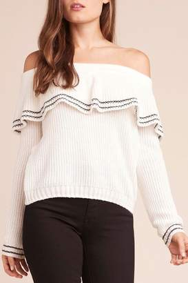 BB Dakota Rush-Week Ruffle Sweater