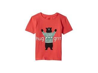 Life is Good Hug Grrr Crusher T-Shirt (Toddler)