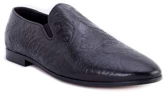 Robert Graham Mistry Paisley Embroidered Loafer