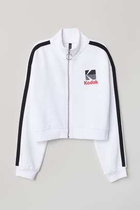 H&M Jacket with Zip - White