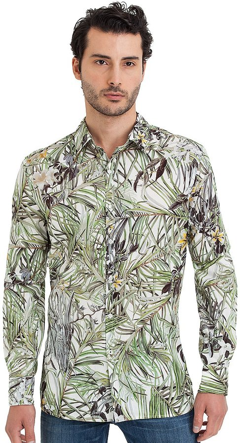 GUESS by Marciano Palm Long-Sleeve Shirt