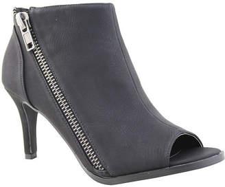 Michael Antonio Womens Fants-Pu Bootie Stiletto Heel Zip