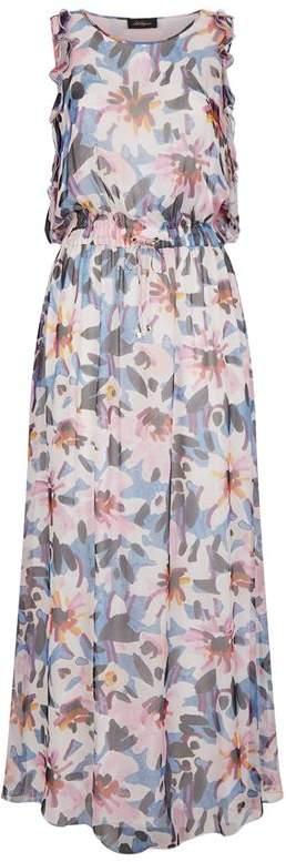 Silk Floral Maxi Dress