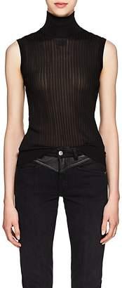 Givenchy Women's Rib-Knit Sleeveless Top - Black