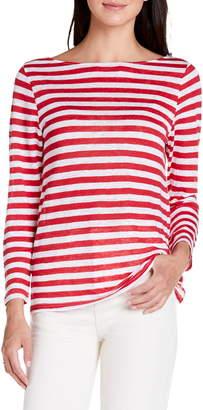 f231730244ec9 Michael Stars Kelly Stripe Boatneck Linen Top