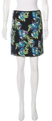 Elizabeth and James Floral Print Mini Skirt w/ Tags