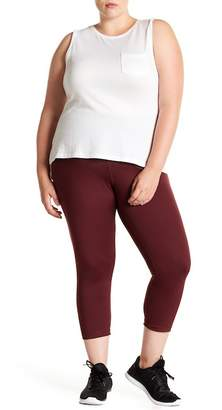 Zella Z By High Waisted Daily Crop Capri Pants (Plus Size)
