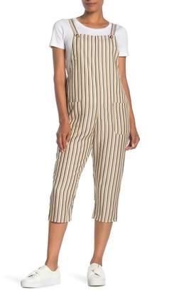 Dress Forum Striped Overall Jumpsuit