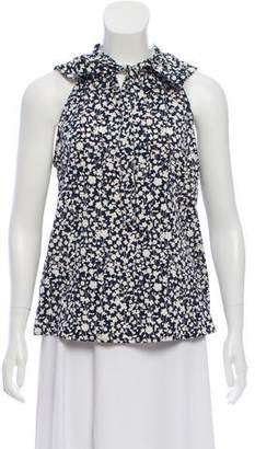 Marc by Marc Jacobs Sleeveless Silk-Blend Top