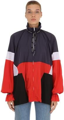 Vetements Nylon Track Jacket