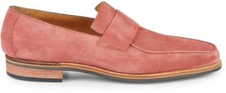 Corthay Bel Air Suede Penny Loafers