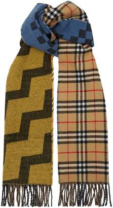 Burberry Reversible Checkerboard Scarf