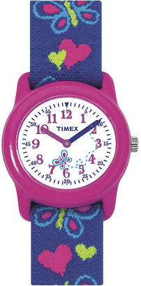 Timex Easy Reader Kids Blue Fabric Strap Watch T890019J