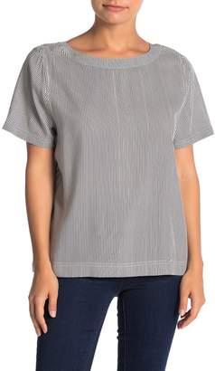 Susina Short Sleeve Buttoned Back T-Shirt (Regular & Petite)