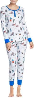 BedHead x Peanuts(R) Henley Pajamas