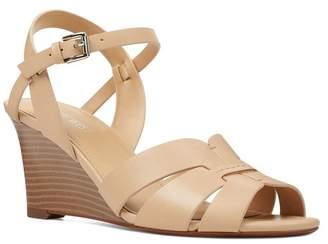 Nine West Summer Stacked Wedge Heel Sandal