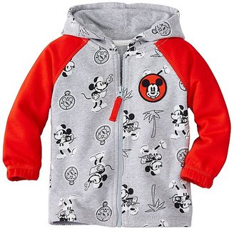 Toddler Disney Mickey Mouse Lined Hoodie $50 thestylecure.com