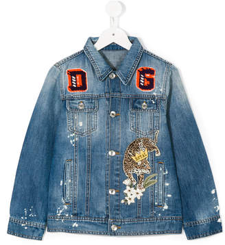 Dolce & Gabbana patched denim jacket