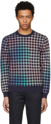 Paul Smith Multicolor Gingham Sweater