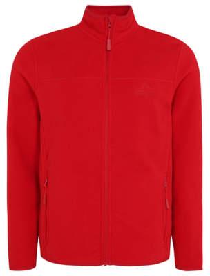 George Ozark Trail Red Fleece Zip-Up Jacket