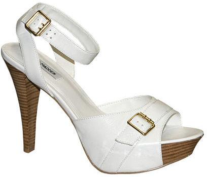 Chrrome White Leather