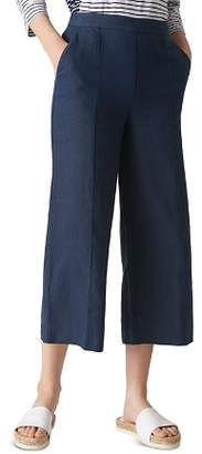 Whistles Wide-Leg Cropped Pants