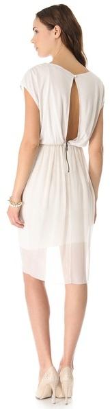 Alice + Olivia Air by Tulip Draped Dress