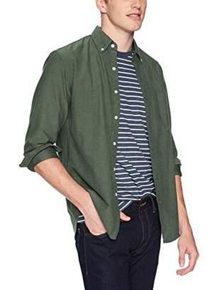 J.Crew Mercantile Men's Slim-Fit Long-Sleeve Solid Shirt