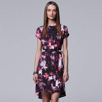 Vera Wang Women's Simply Vera High-Low Shirtdress