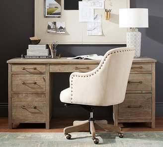 Pottery Barn Parker Reclaimed Wood Desk