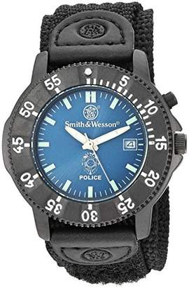 Smith & Wesson Stainless Steel and Nylon Watch