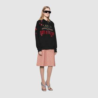 "Gucci Oversize sweatshirt logo ""Spiritismo"""
