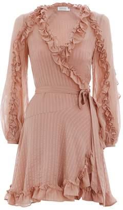 Zimmermann Cascade Wrap Dress