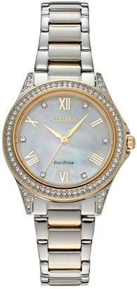 Citizen Drive from Eco-Drive Women's POV Stainless Steel Watch - EM0234-59D