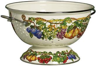 Tabletops Unlimited Kensignton Garden Porcelain Enamel 5 Qt Colander