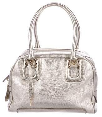 Dolce & Gabbana Metallic Leather Lily Bag