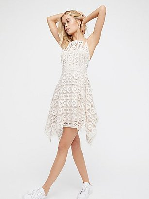Just Like Honey Mini Dress by Free People $128 thestylecure.com