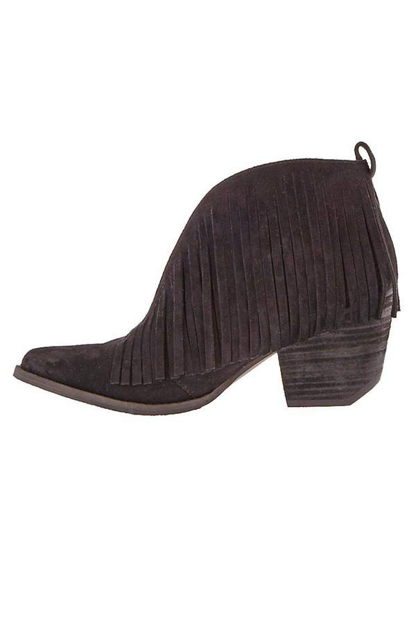 Coconuts By Matisse Coconuts by Matisse Suede Fringe Booties