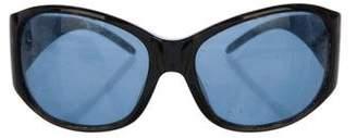 Dolce & Gabbana Tortoiseshell Round Eyeglasses
