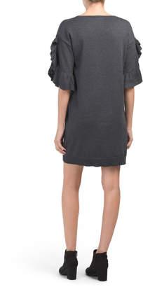 Max Studio Dolman Sleeve Sweater Dress