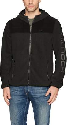 Tommy Hilfiger Men's Hooded Performance Fleece Jacket