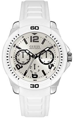 GUESS Men's Quartz Stainless Steel Casual Watch
