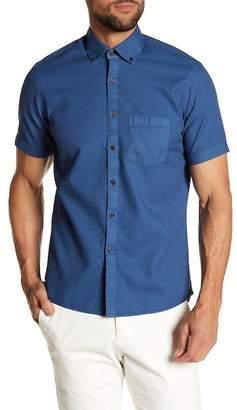 Borgo 28 Solid Waffle Modern Fit Shirt