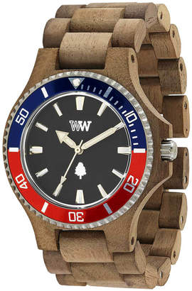 at eBay WeWood NEW Date MB Nut Rough French Wood Watch by Branched a03ac0cf7e4