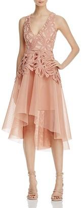 Elliatt Muse Lace & Mesh Dress $265 thestylecure.com